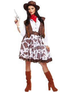 Cowgirl - Costume per adulto