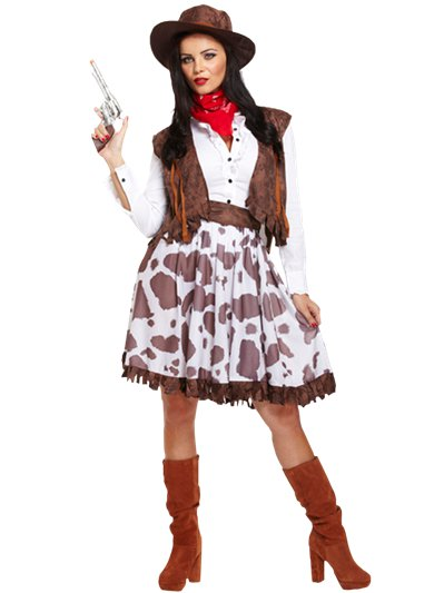 Cowgirl - Adult Costume