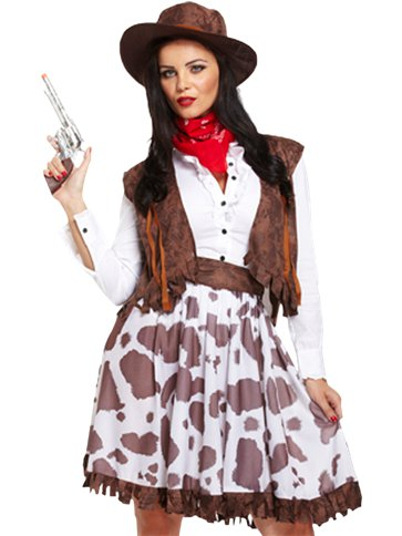 Cowgirl - Adult Costume left