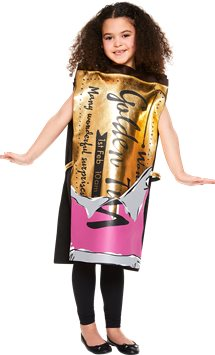Roald Dahl Golden Ticket - Child Costume