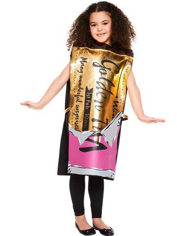 Roald Dahl Golden Ticket Child Costume Party Delights