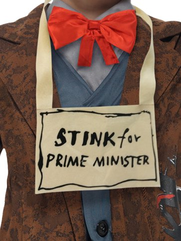 David Walliams Mr Stink - Child & Teen Costume back