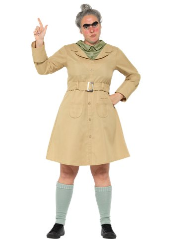 Miss Trunchbull - Adult Costume front