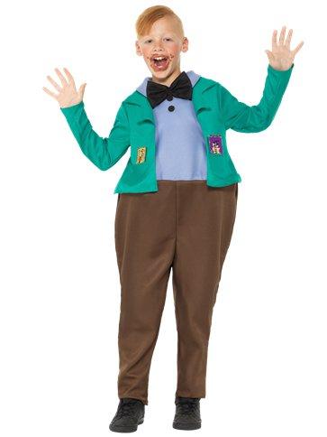 Roald Dahl Augustus Gloop Child Costume Party Delights