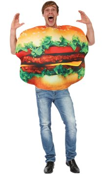 Burger - Adult Costume