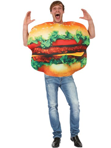 Burger - Adult Costume front