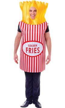 French Fries - Adult Costume