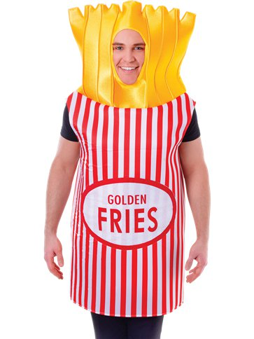 French Fries - Adult Costume left