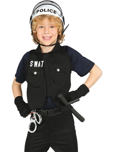 S.W.A.T - Child's Costume left