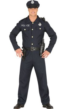 Policeman - Adult Costume