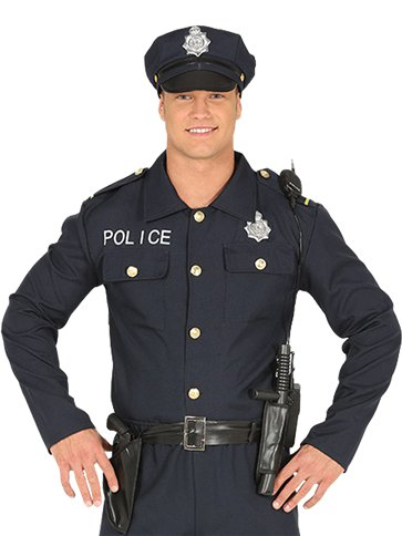 Policeman - Adult Costume left