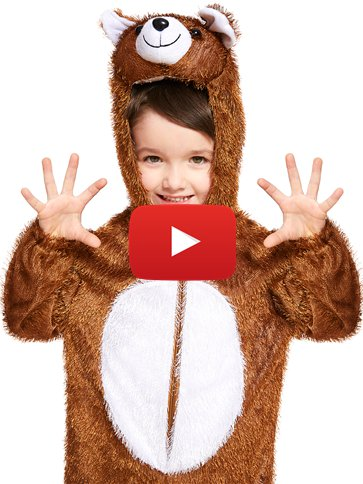 Bear - Child Costume video