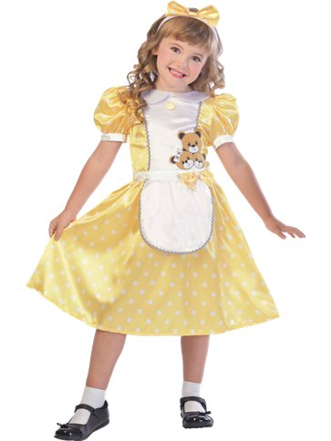Goldilocks Child Costume Party Delights