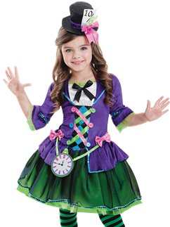 Bad Hatter - Child Costume