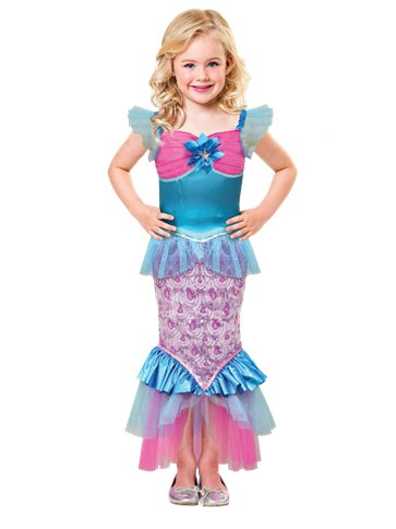 Sparkle of the Sea - Child Costume front
