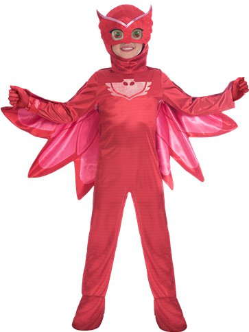PJ Masks Owlette Deluxe - Child Costume front