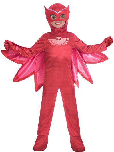 PJ Masks Owlette Deluxe - Child Costume