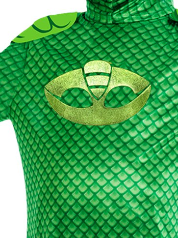 PJ Masks Gekko Deluxe - Child Costume back