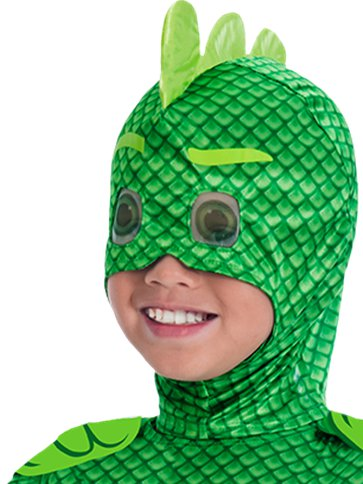 PJ Masks Gekko Deluxe - Child Costume left