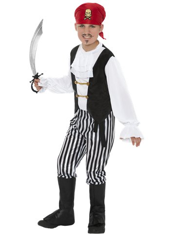 Pirate - Child Costume front
