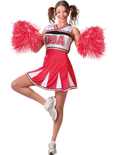 Cheerleader - Adult Costume