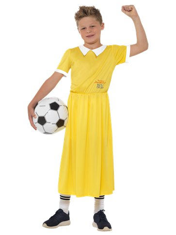 David Walliams Boy in a Dress - Child & Teen Costume front