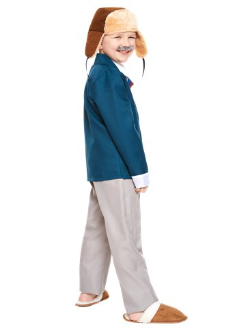 David Walliams Grandpa's Great Escape - Child Costume back