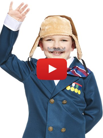 David Walliams Grandpa's Great Escape - Child Costume video