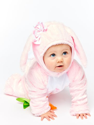 Little Wabbit Pink - Baby & Toddler Costume front