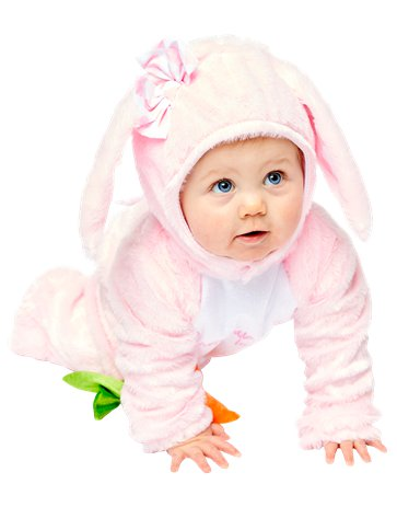 Little Wabbit Pink - Baby, Toddler & Child Costume front