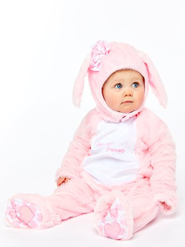 Little Wabbit Pink - Baby & Toddler Costume left