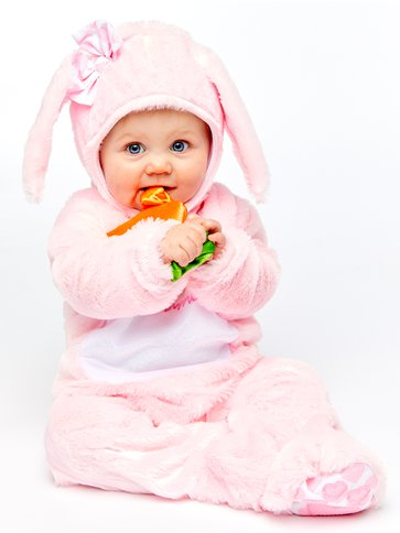 Little Wabbit Pink - Baby, Toddler & Child Costume right