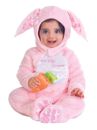 Little Wabbit Pink - Child Costume