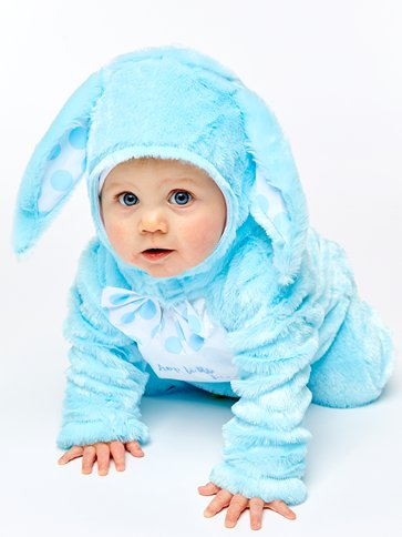 Little Wabbit Blue - Baby & Toddler Costume front