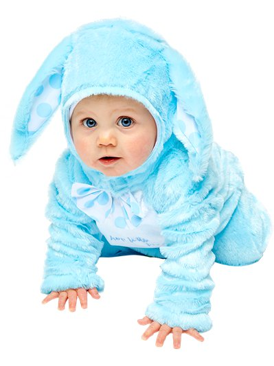 Little Wabbit Blue - Baby, Toddler & Child Costume