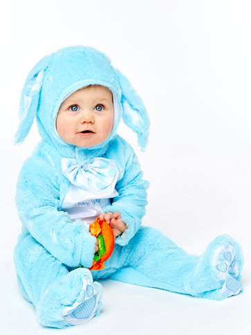 Little Wabbit Blue - Baby & Toddler Costume pla