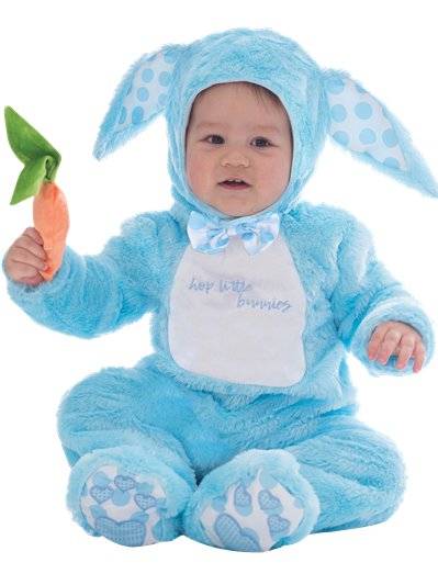 Little Wabbit Blue - Child Costume