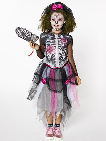 Day of the Dead - Child Costume front