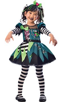 Little Miss Frankie - Child Costume