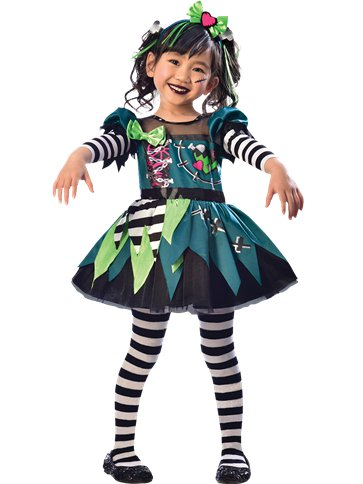 Little Miss Frankie - Child Costume front