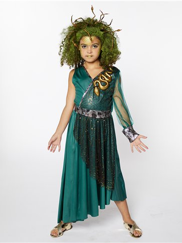 Medusa Child Costume Party Delights