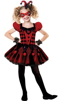 Harlequin Cutie - Child Costume