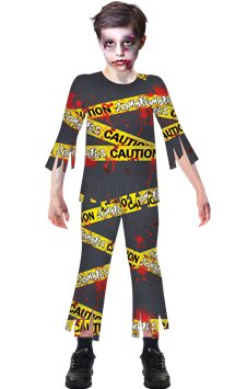 Caution Zombie - Child Costume