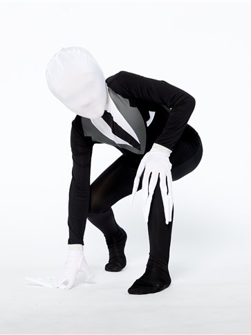 Slender Man Party Suit - Child Costume left