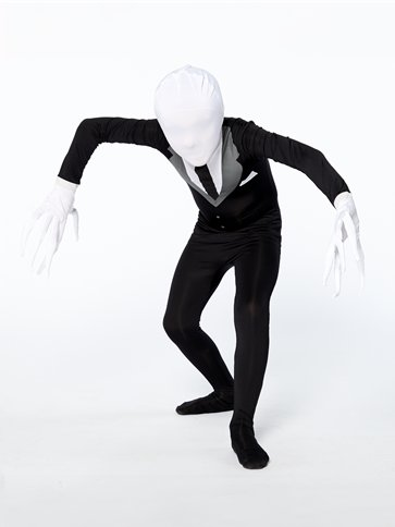 Slender Man Party Suit - Child Costume pla