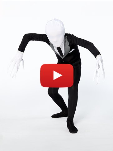 Slender Man Party Suit - Child Costume video