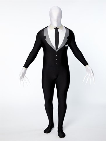 Slender Man Party Suit - Adult Costume left
