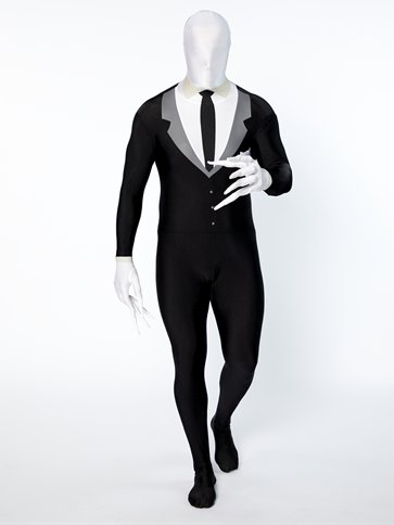 Slender Man Party Suit - Adult Costume pla
