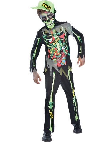 Toxic Zombie Child Costume Party Delights
