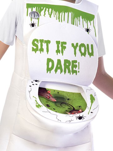 Slimy Toilet - Child Costume left